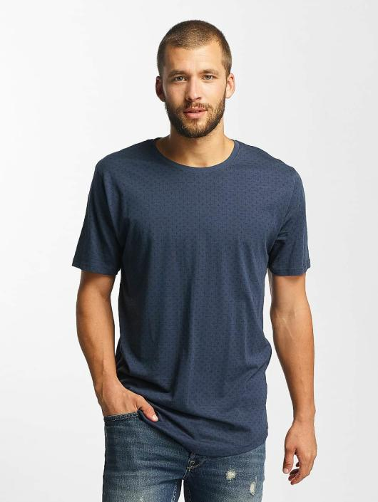 Only & Sons T-Shirt onsMini AOP blau