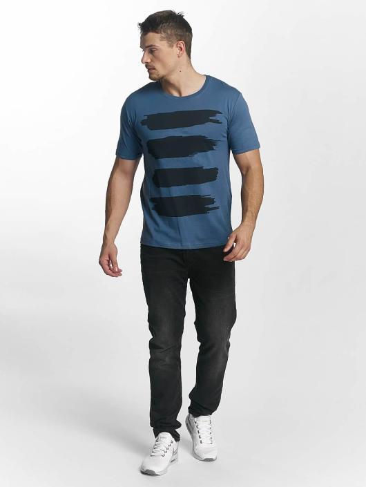 Only & Sons T-Shirt onsMerek O-Neck bleu