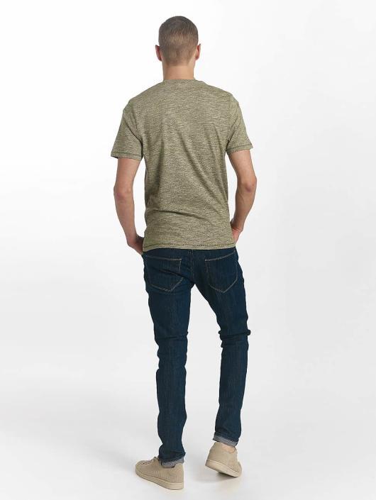 Only & Sons t-shirt onsNiel olijfgroen