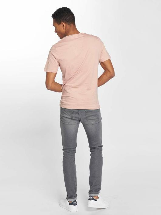 Only & Sons t-shirt onsDave Fitted rose