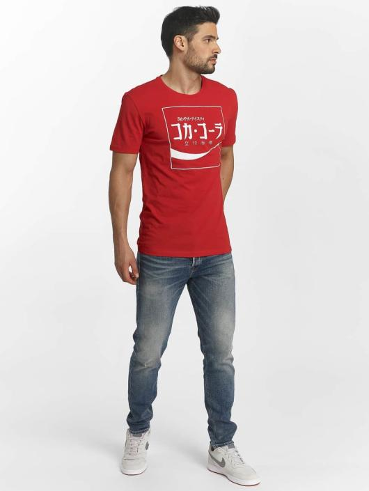Only & Sons T-Shirt onsCoca Cola rouge