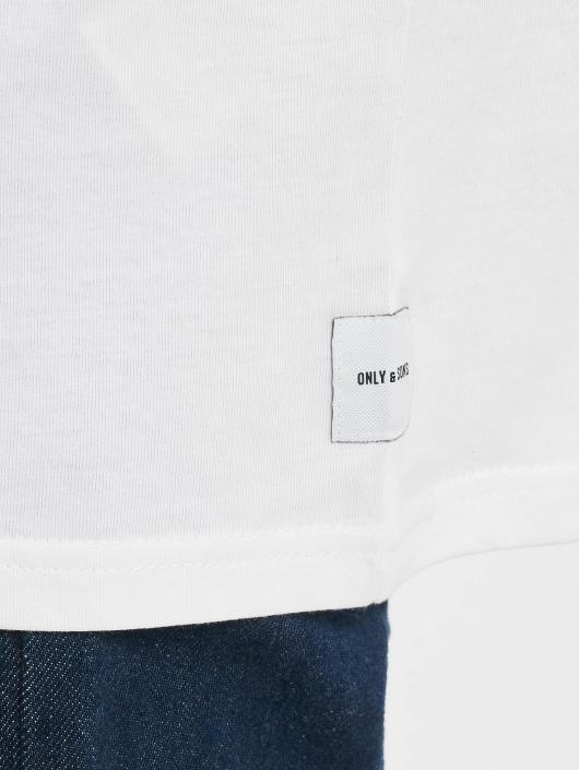 Only & Sons t-shirt onsDonnie Oversized wit