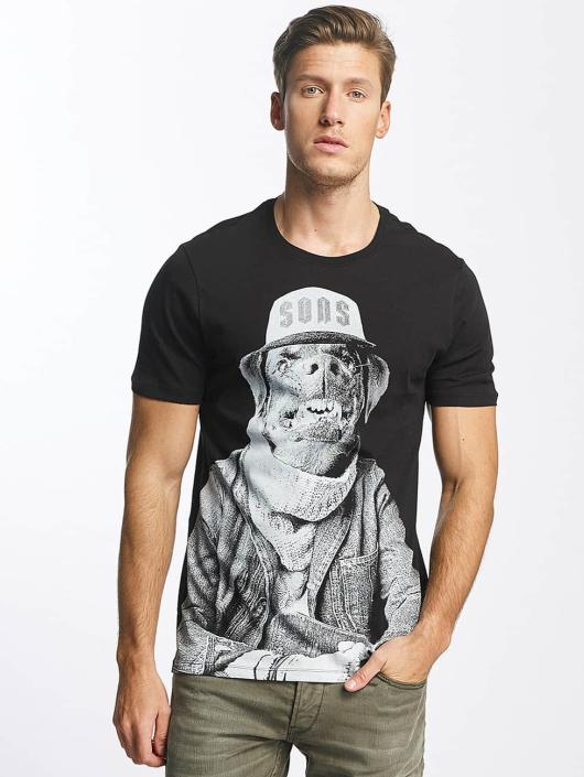 Only & Sons T-Shirty onsMalthe czarny