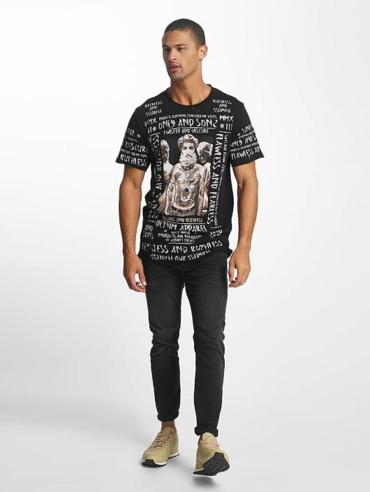 Only & Sons T-Shirty onsMichael czarny