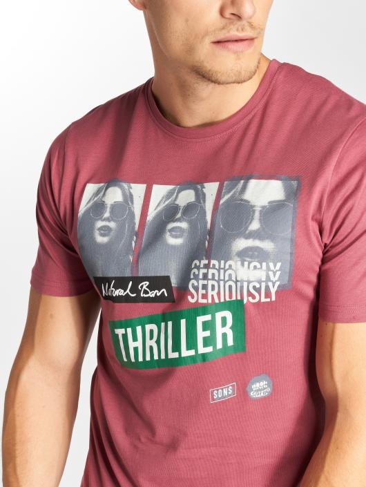 Only & Sons T-Shirty onsGabriel czerwony
