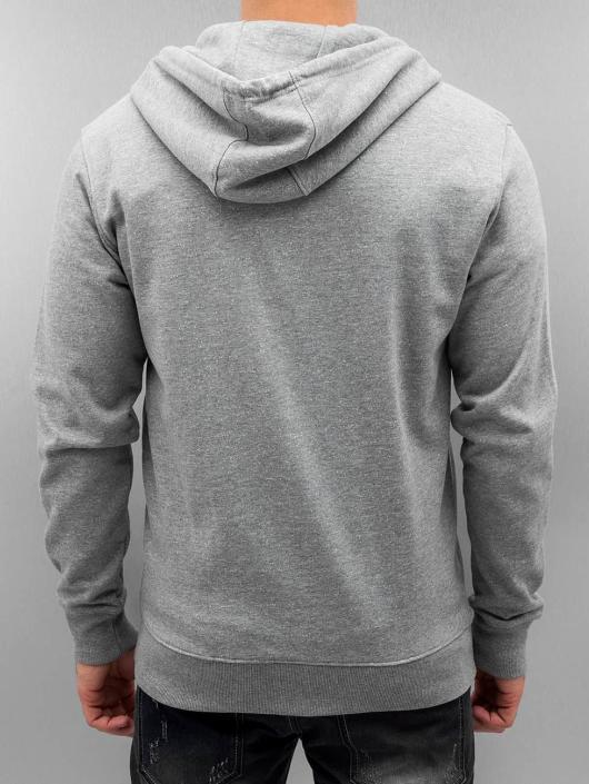 Only & Sons Zip Hoodie onsFiske grå