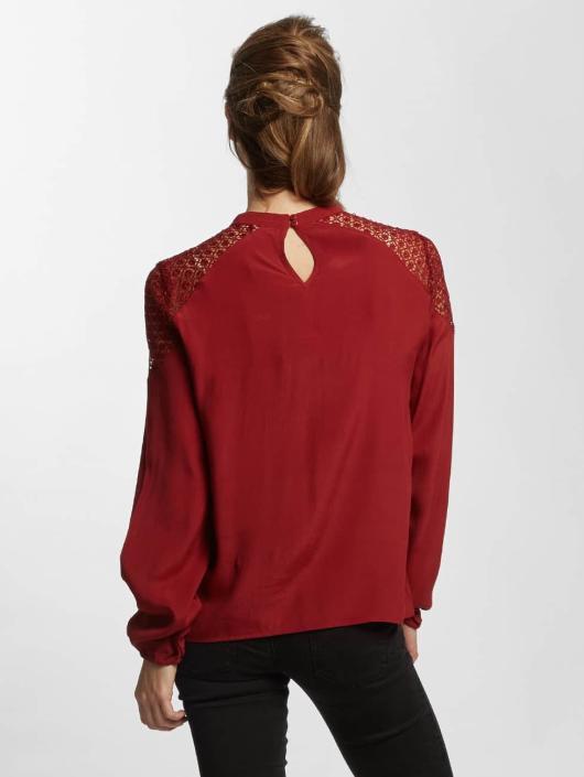 Only Bluzka/Tuniki onlSonny Lace Bishop czerwony