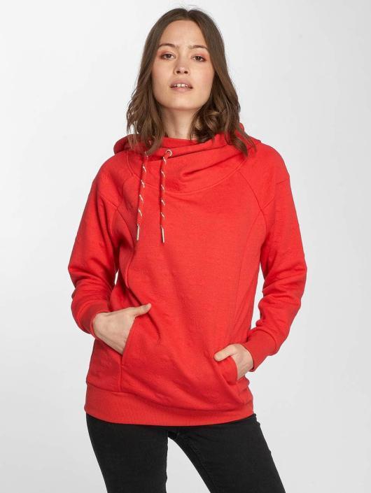 Only Bluzy z kapturem onlCammi czerwony
