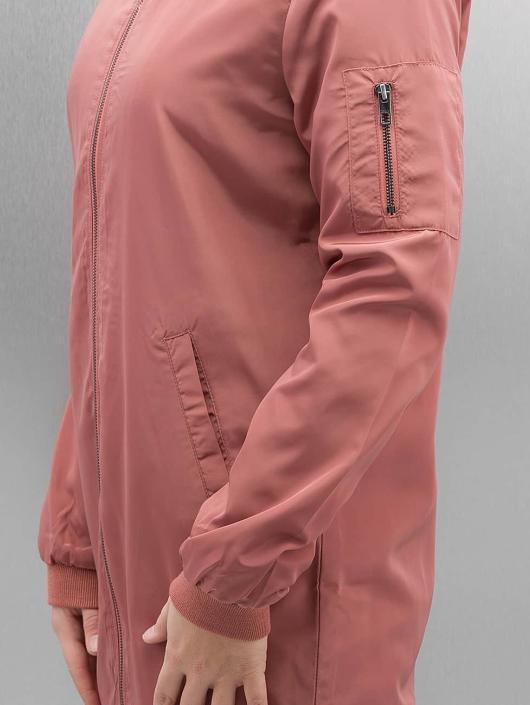 Only Bomberová bunda onlLinea Long ružová