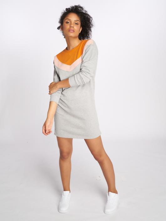 Only Dress onlGigi Block Sweat grey