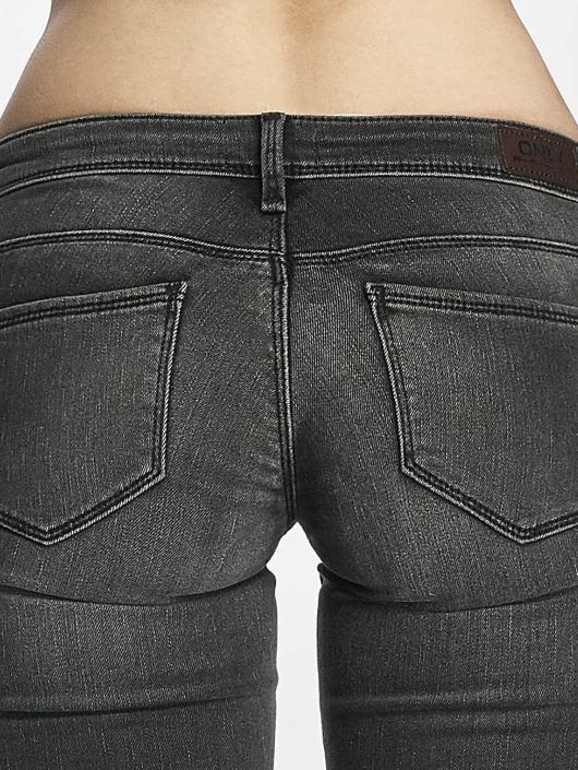 Only dżinsy przylegające onlCoral szary