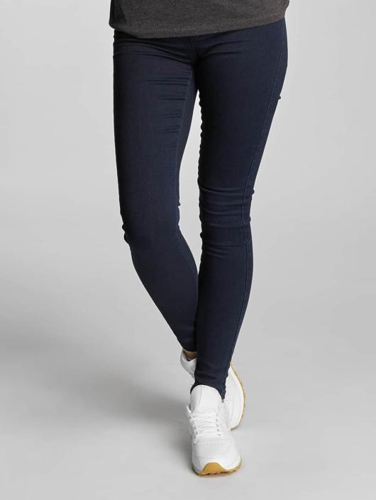 Only High Waisted Jeans Royal High синий