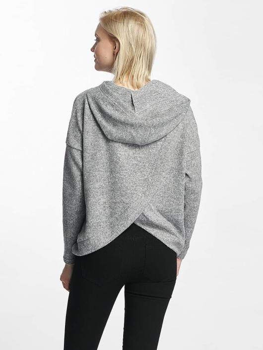 Only Hoody onlIda Knit grau