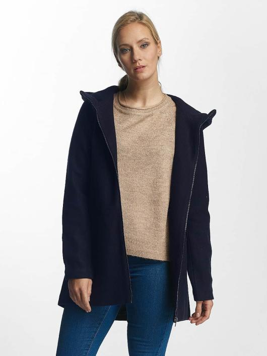 Only Kabáty onlDogville Camille Wool modrá
