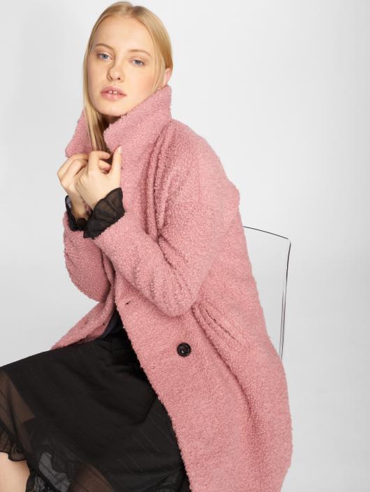 Only Kabáty onlPaloma Boucle Wool ružová