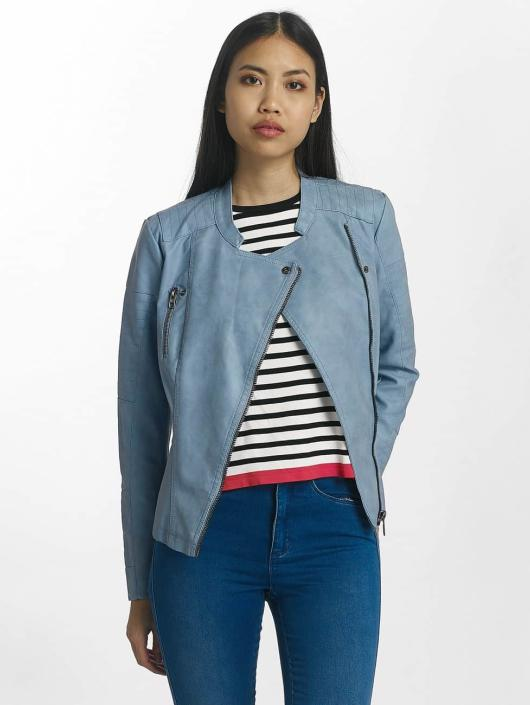 Only Leather Jacket onlAva blue