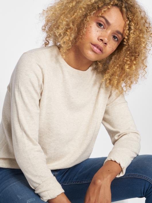 Only Longsleeve onlCathrine Knit beige