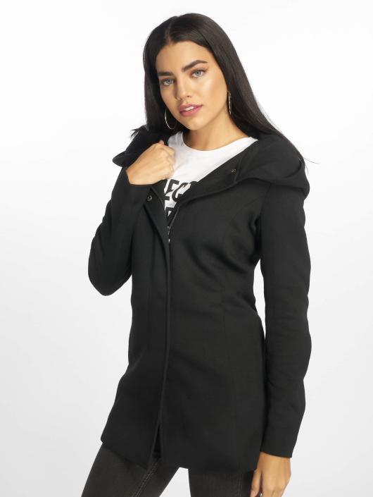 Only mantel grau schwarz
