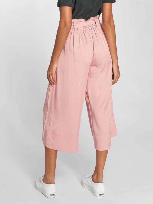 Only Pantalon chino onlDevon Paperbagwaist rose