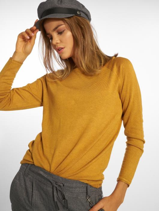 official photos a5ac9 cee9c Only onlMila Lacy Knit Sweatshirt Chai Tea