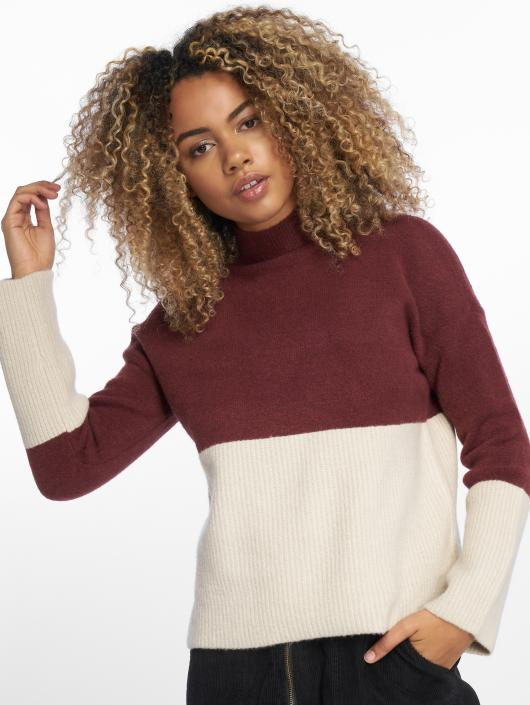 Only Pullover onlMette Colorblock brown