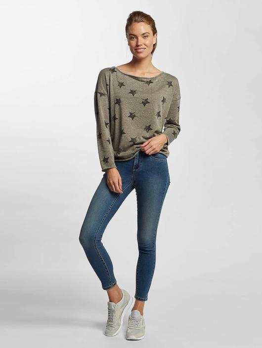 Only Pullover onlGalaxy grau