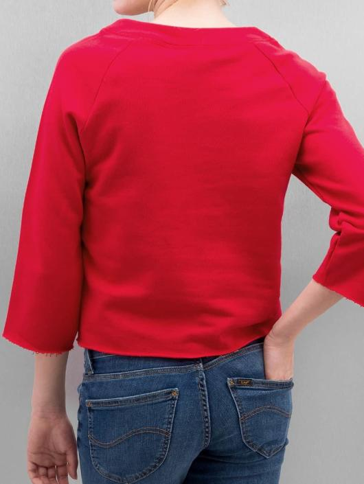 Only Pullover onlCropped 3/4 Boyfriend red