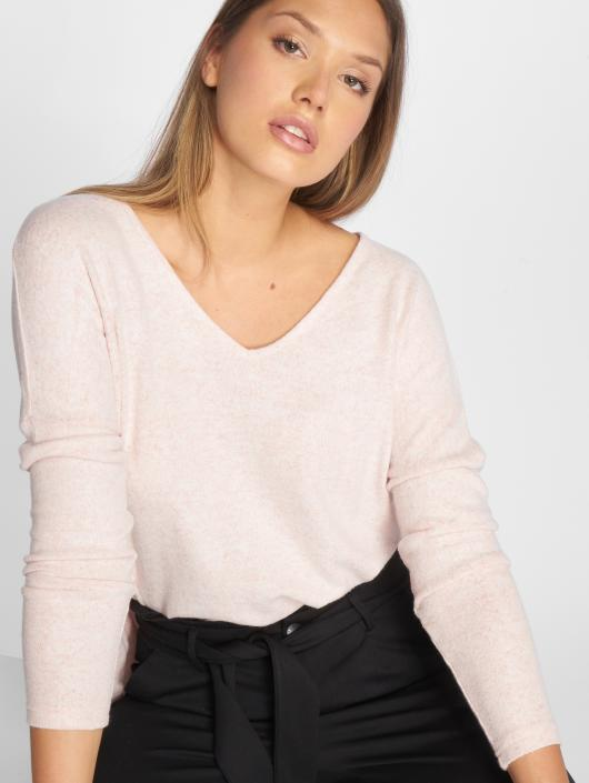 Only Pullover onlKleo Knit rosa