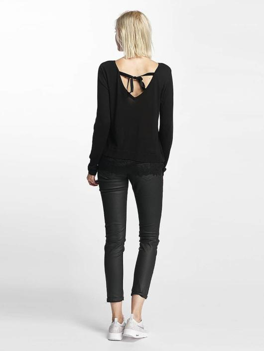 Only Pullover onlShirtley Lace schwarz