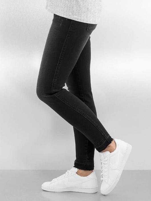 Only Skinny Jeans onlCoral Short Ankle czarny