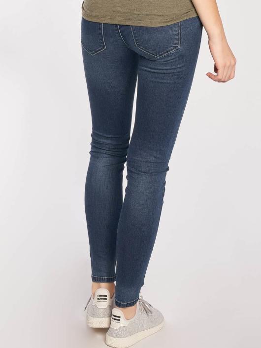 Only Skinny Jeans Coral Superlow niebieski