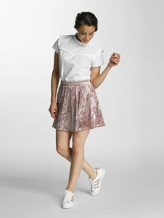 Only Skirt onlPunti Velour Skater rose