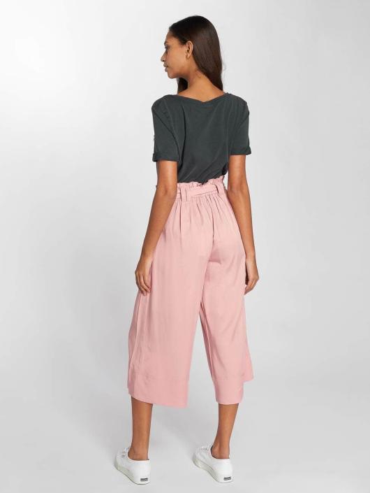 Only Spodnie wizytowe onlDevon Paperbagwaist rózowy