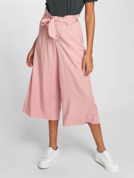 Only Stoffbukser onlDevon Paperbagwaist rosa