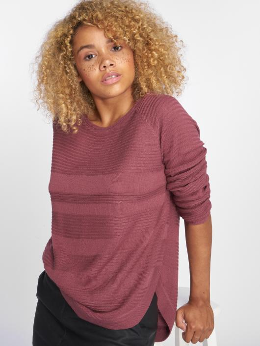 Only Sweat & Pull onlCaviar Knit pourpre