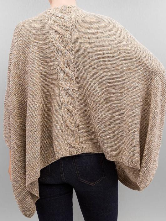 Only Swetry onlAustin Poncho bezowy
