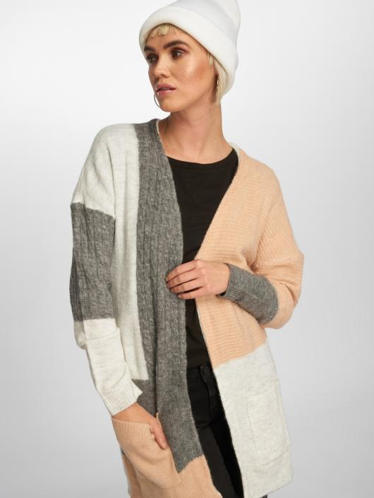 Only Swetry rozpinane onlSalvador Long Knit szary