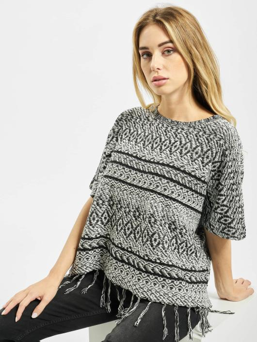 Only Swetry onlArdenay 2/4 Knit Poncho szary