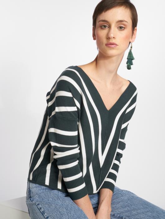 Only Swetry onlAya 7/8 Knit zielony
