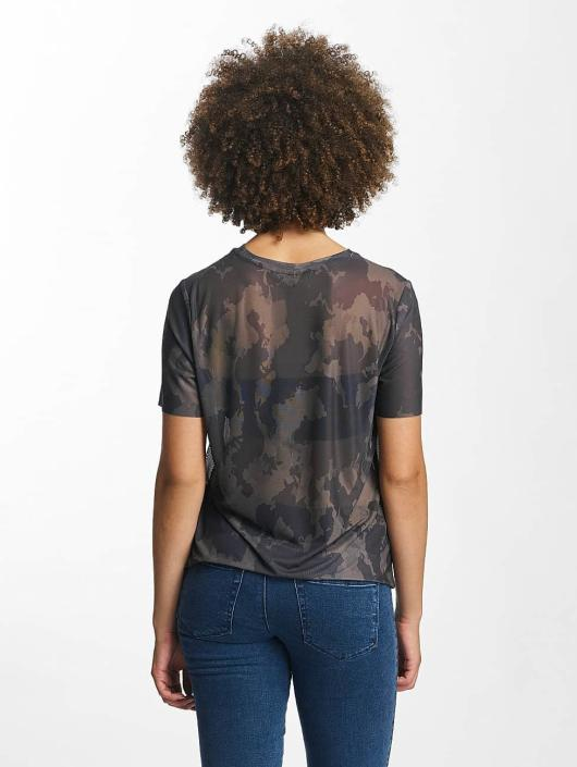 only damen t shirt onlerica in camouflage 360042. Black Bedroom Furniture Sets. Home Design Ideas