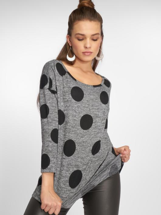 Only T-Shirt manches longues onlElcos 4/5 gris