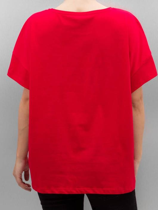 Only T-Shirt onlBad Hair Dont Care red