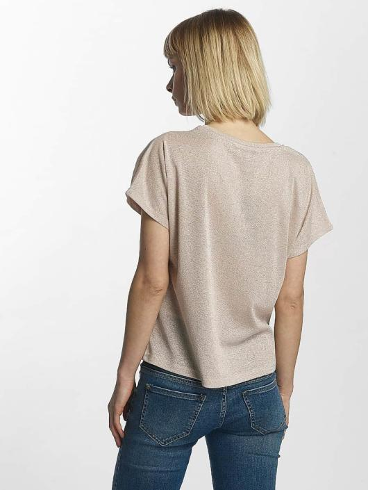 Only T-Shirt onlSilvery Disco rosa