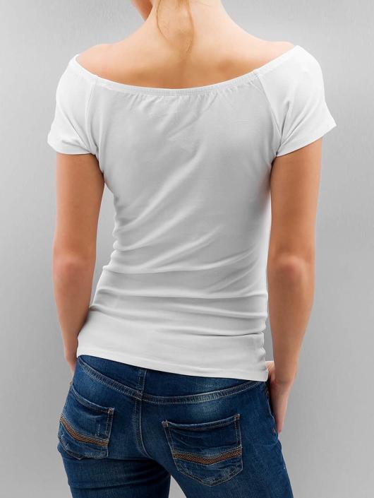 Only T-Shirt onlLive Love weiß