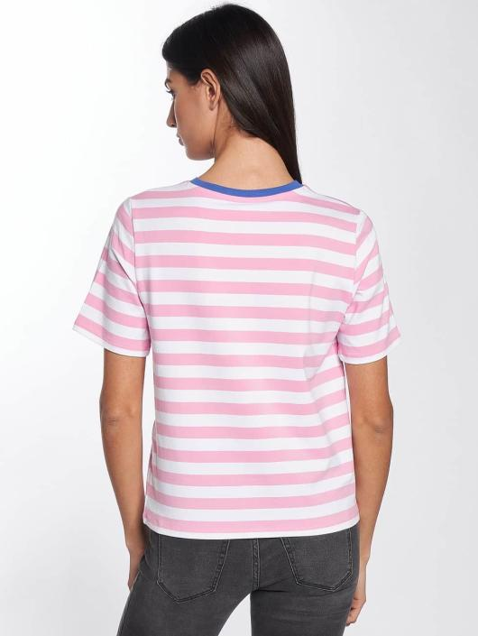 Only T-Shirty onlLive Love Trendy Stripe rózowy