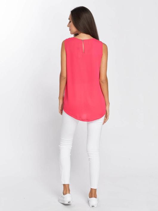 Only Tops sans manche onlVenice rose