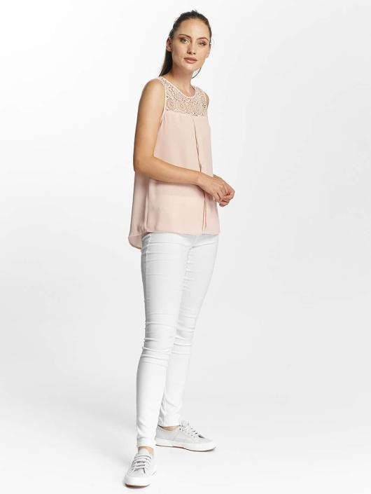 Only Tops onlVenice Lace rózowy