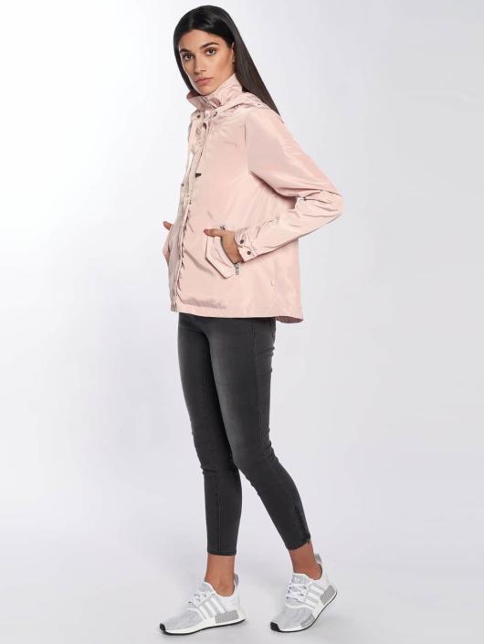 Only Transitional Jackets onlLina Nylon Parka rosa