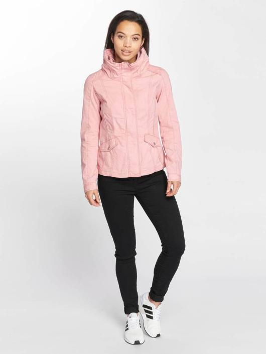 Only Transitional Jackets onlDoris Short Spring rosa