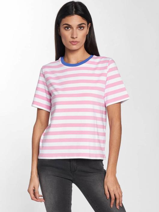 Only Tričká onlLive Love Trendy Stripe ružová